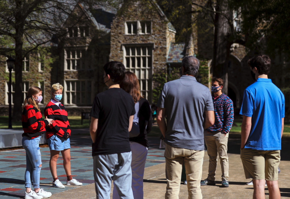 <strong>Rhodes College announced last week that vaccinations will be mandatory for students and staff to be on campus this fall. LeMoyne-Owen and Christian Brothers University also are requiring staff and students to be vaccinated.</strong> (Patrick Lantrip/Daily Memphian file)