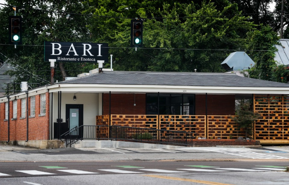 <strong>Bari Ristorante e Enoteca will soon open at its new location at the corner of Peabody Avenue and Cooper Street.</strong> (Mark Weber/The Daily Memphian)
