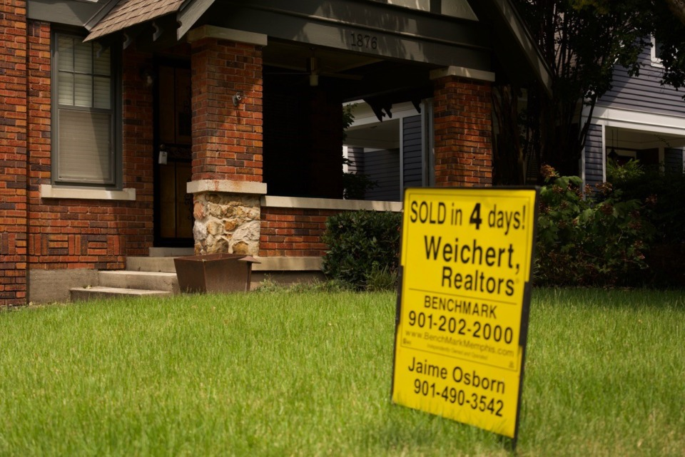 <strong>It&rsquo;s a sign of the times in real estate: Homes continue to sell quickly.</strong> (Tom Bailey/Daily Memphian)
