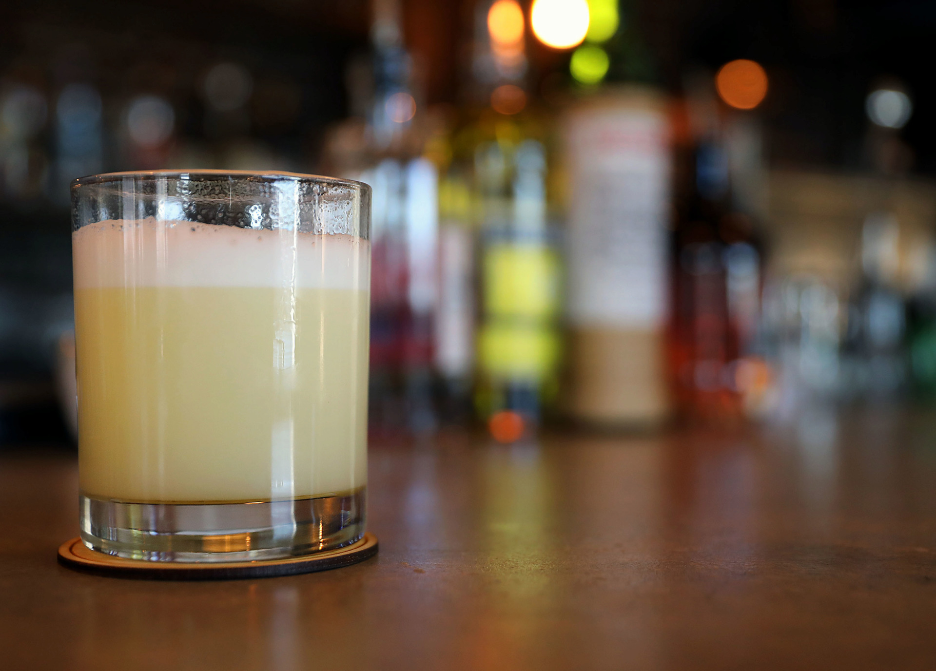 <strong>A Coma Pony made by Nick Manlavi and Mitchell Marable of P.O. Press &amp; Public House in Collierville is this week's featured Bar Talk cocktail.</strong> (Patrick Lantrip/Daily Memphian)