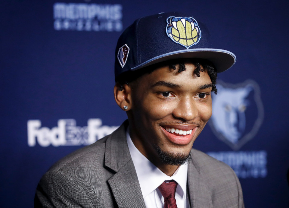 <strong>Ziaire Williams had 19 points in Wednesday's NBA Summer League game against Miami.</strong> (Mark Weber/The Daily Memphian file)