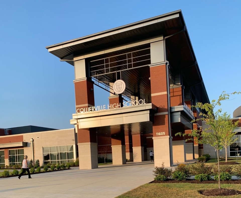 <strong>Collierville&nbsp;High presently  has 12 progressive  COVID-19 cases.</strong> (Daily Memphian file)