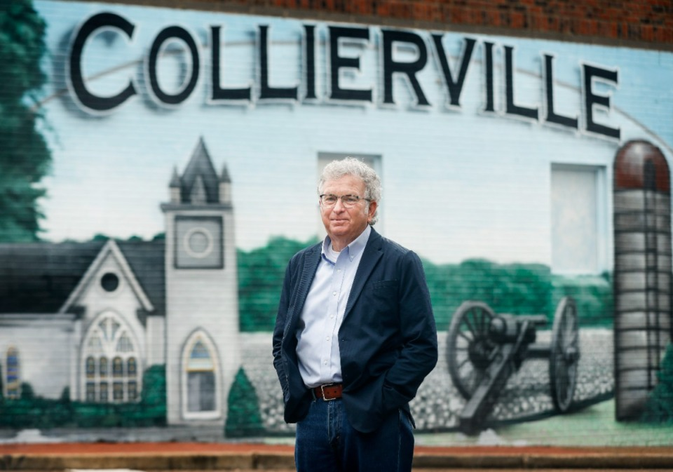 <strong>During his tenure with the Town of Collierville, James Lewellen has seen the city population grow from 18,000 to 51,000.</strong> (Mark Weber/The Daily Memphian)