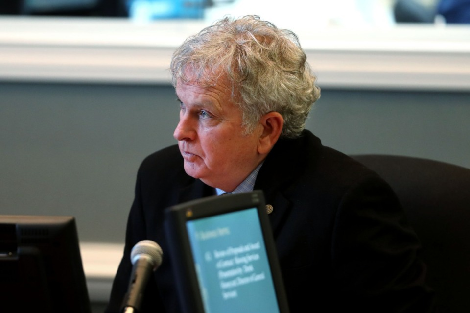 <strong>&ldquo;He is Collierville,&rdquo; vice mayor Maureen Fraser said of town administrator James Lewellen.&nbsp;&ldquo;He gets along with everybody, and he is so connected,&rdquo; she said.</strong> (Daily Memphian file)