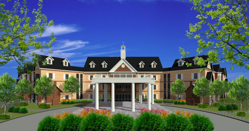 """<p class=""""p1""""><strong>A rendering of the proposed&nbsp;Heritage Oaks senior living development. Collierville&rsquo;s Board of Mayor and Aldermen denied a rezoning request for the location.&nbsp;</strong>(Submitted)"""