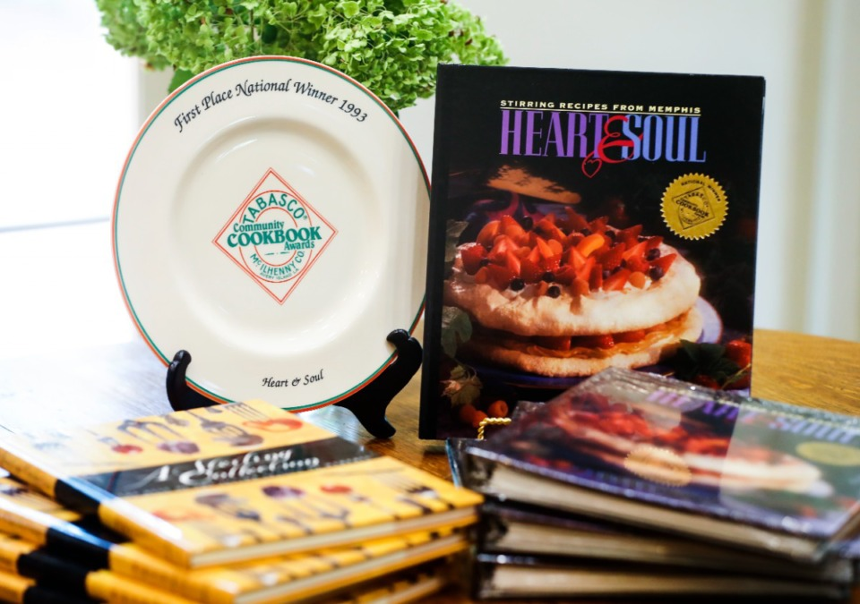<strong>The Junior League of Memphis has a surplus of two of their best-selling cookbooks, &ldquo;Heart &amp; Soul&rdquo; and &ldquo;A Sterling Collection.&rdquo;</strong> (Mark Weber/The Daily Memphian)