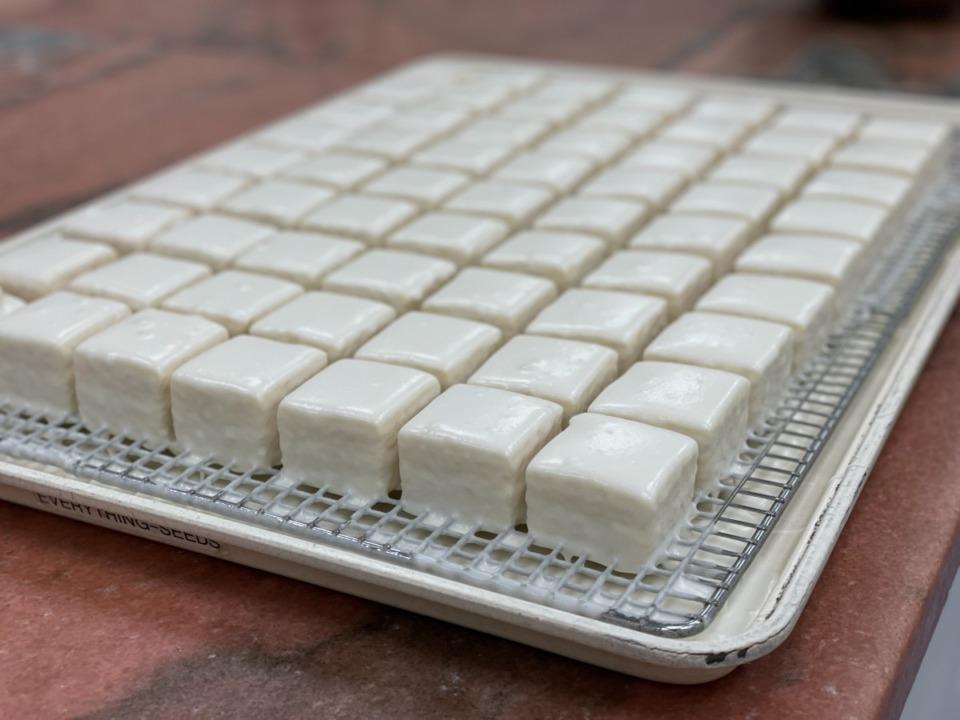 <strong>Loretta Bennett&rsquo;s buttercream goes on cakes, but its highest purpose is the filling for La Baguette&rsquo;s petit fours.&nbsp;</strong>(Jennifer Biggs/Daily Memphian)