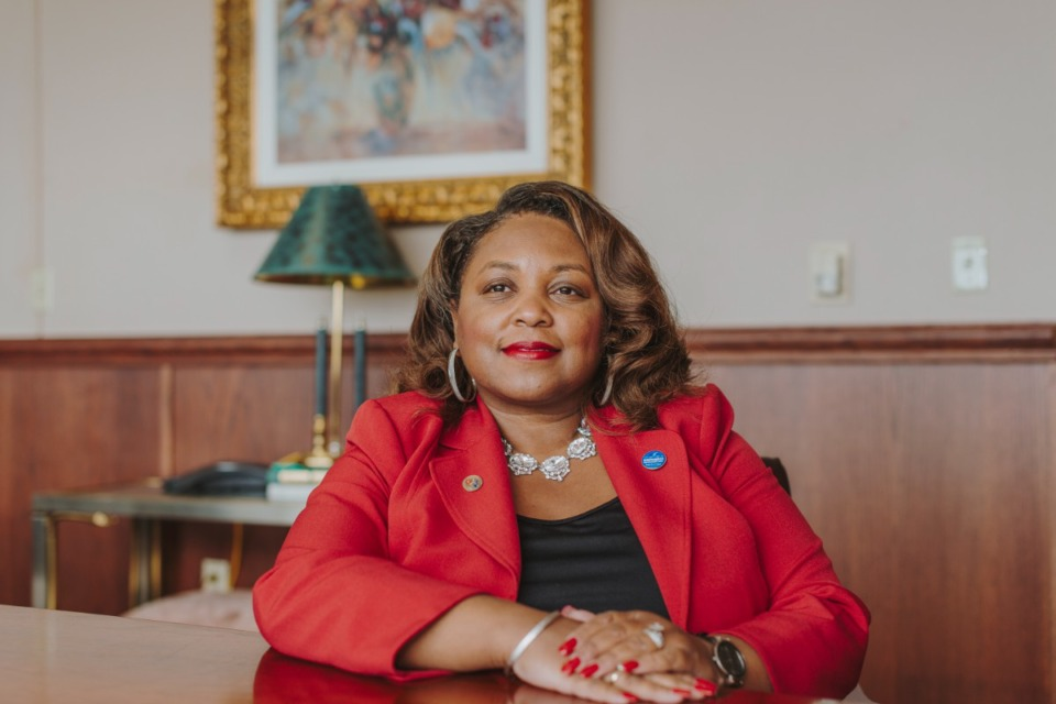 <strong>President of Southwest Tennessee Community College, Tracy D. Hall, hopes to increase enrollment at the Gill Center in Frayser.</strong> (Daily Memphian file)
