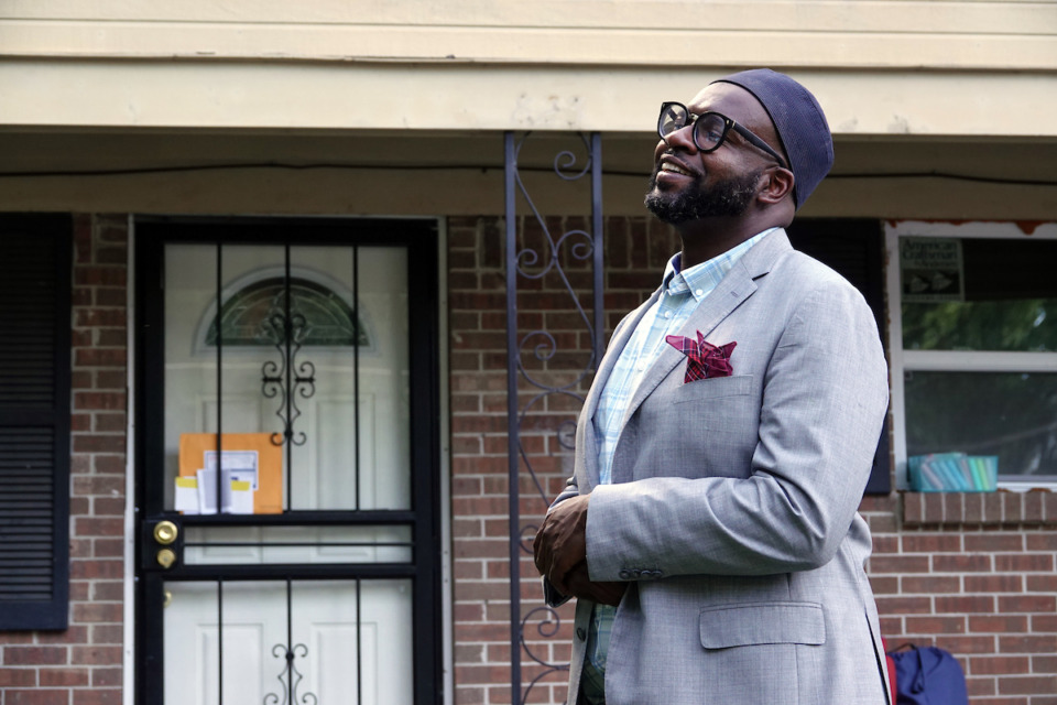 <strong>Malik Shaw and Midtown Mosque members are working to improve the Klondike neighborhood of North Memphis.</strong> (Karen Pulfer Focht/Special to the Daily Memphian)