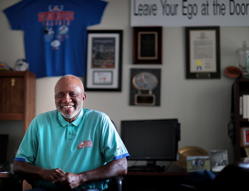 <strong>Fred Jones started the Southern Heritage Classic in 1990, the year after Deion Sanders was picked No. 5 in the NFL draft. Eddie George was still in high school. Jones wanted to do something to celebrate historically Black colleges and the city he called home.</strong> (Daily Memphian file)