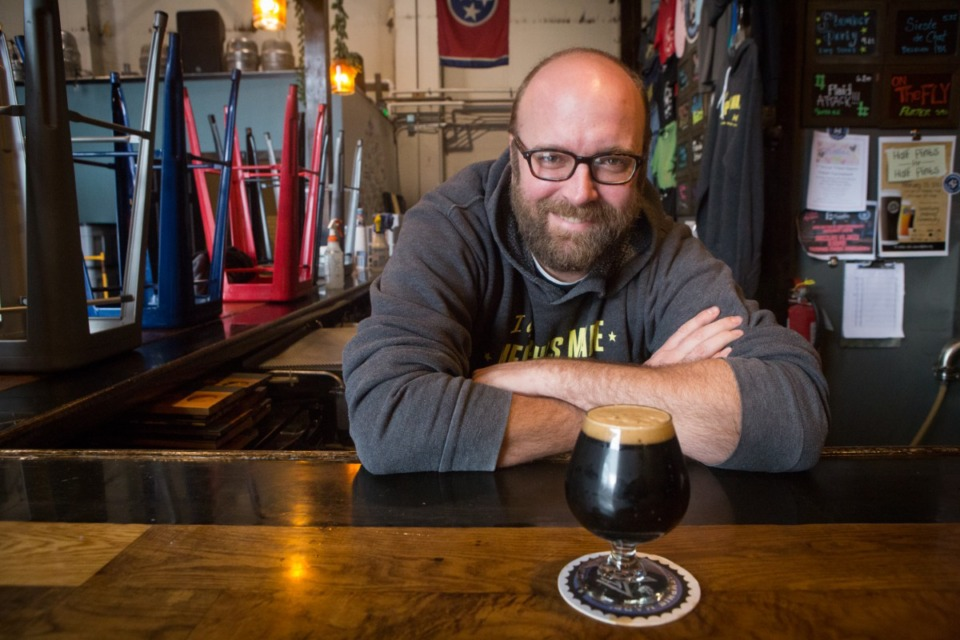 <strong>&ldquo;There was a lot of conversation, a lot of email about making the (COVID-19) vaccine card required,&rdquo; said festival co-founder and Memphis Made Brewing Co. co-owner Andy Ashby (pictured).</strong> (Daily Memphian file)