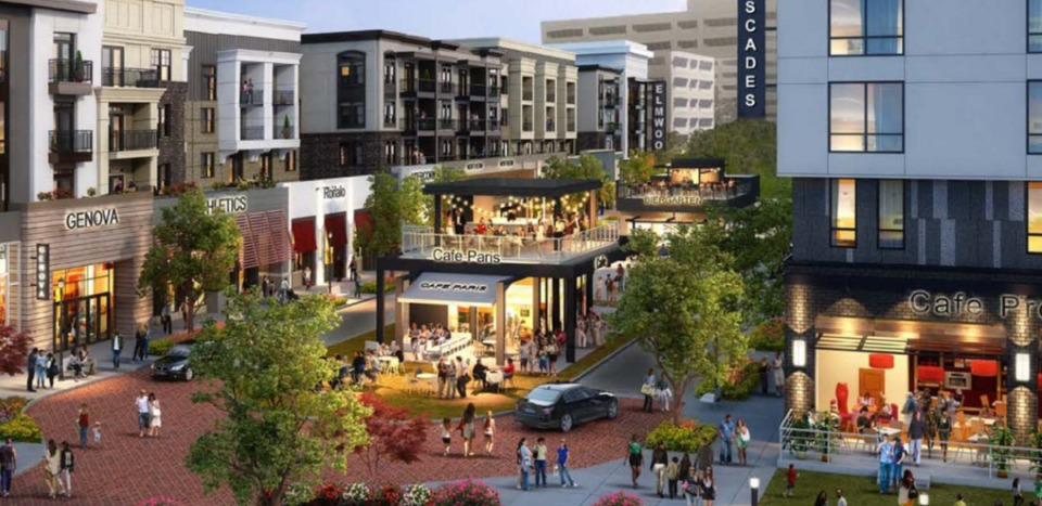 <strong>The Cascades is a proposed 84-acre mixed-use development that would be located&nbsp;at U.S. 78 and Cockrum Road in Olive Branch.</strong> (Credit: The Shopping Center Group)