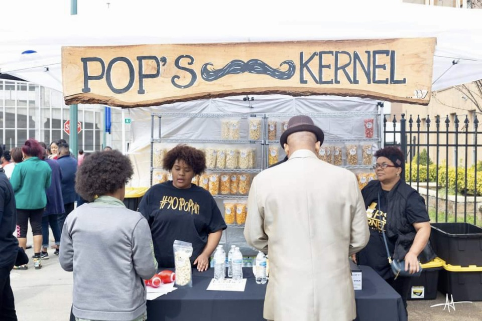 <strong>Pop&rsquo;s Kernel will have a tent at the Soulful Food Truck Festival coming to Tiger Lane Sept. 26.</strong> (Submitted by Cynthia Daniels)