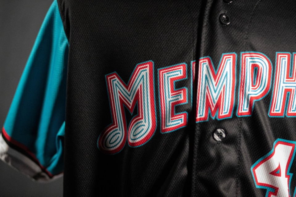 <strong>The Memphis Redbirds&rsquo; Grizzlies throwback uniforms will be worn once on Friday, Sept. 17, 2021 at AutoZone Park, before being auctioned to sell to fans.</strong> (Courtesy Memphis Redbirds)