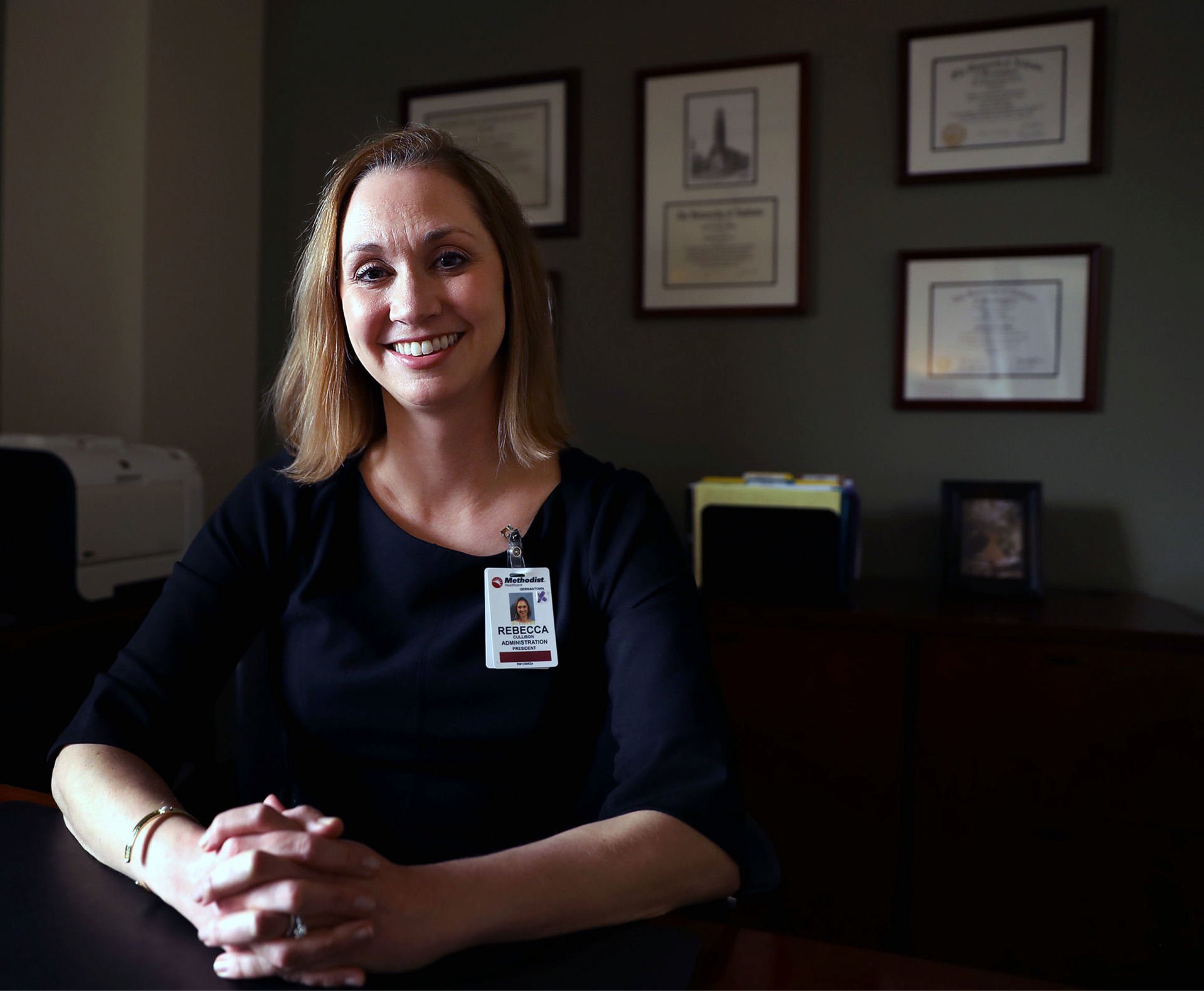 <strong>Rebecca Cullison, former CEO of The Village at Germantown, has been named the new president of Methodist Le Bonheur Germantown Hospital.</strong> (Patrick Lantrip/Daily Memphian)
