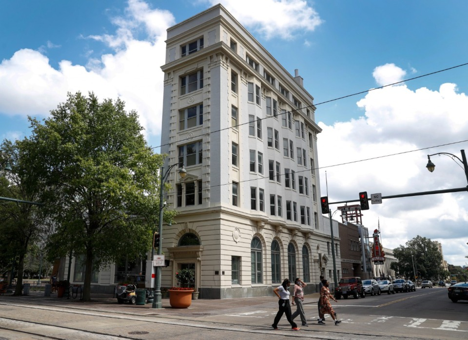 <strong>This is how 114 N. Main St. looks on Sept. 20, pre-redevelopment.</strong> (Mark Weber/The Daily Memphian)