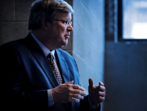 <strong>Memphis Mayor Jim Strickland on Friday, Sept. 24, announced changes in his administration, including a new director for the city&rsquo;s Group Violence Intervention Program.</strong> (Jim Weber/Daily Memphian file)
