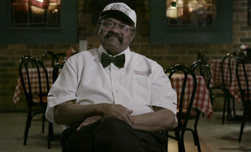 <strong>&lsquo;Big Jack&rsquo; Dyson, a longtime waiter at the Rendezvous, died during the filming of &ldquo;The &lsquo;Vous.&rdquo;</strong> (Courtesy Jack Lofton)