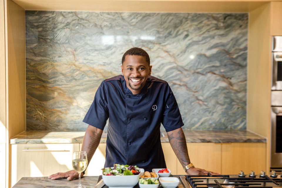 <strong>Chef Phillip Dewayne, owner of Park + Cherry at Dixon Gallery &amp; Gardens, is partnering with chef Mashama Bailey&nbsp;for a five-course dinner, served under a tent at the Dixon and inspired by the book&nbsp;&ldquo;Black, White and The Grey.&rdquo;</strong>&nbsp; (Submitted.)