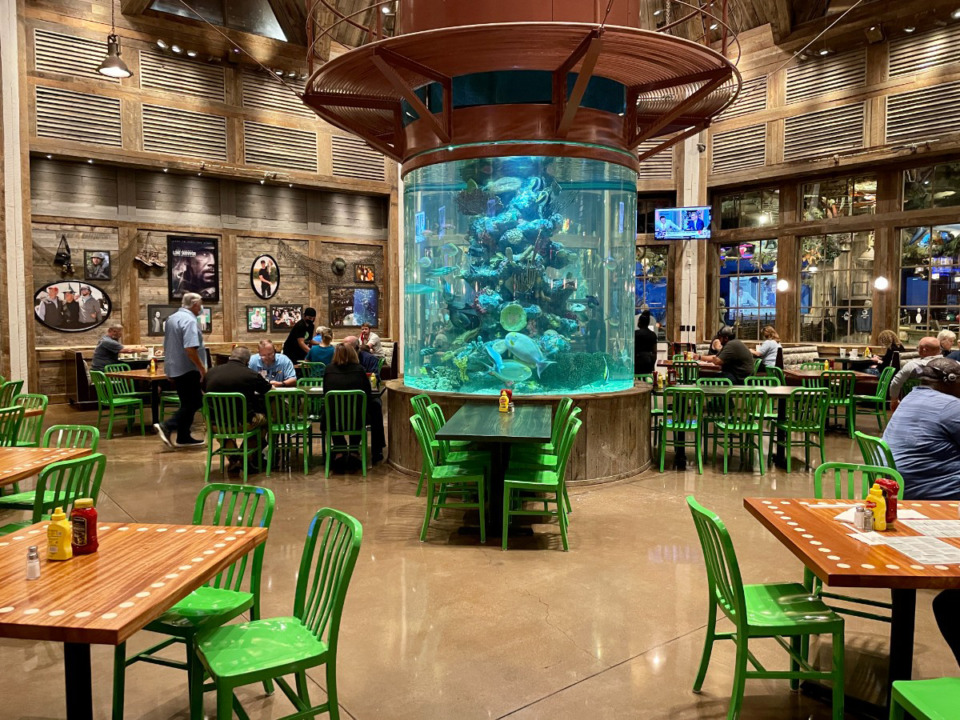 <strong>Wahlburgers Wild is in the space previously occupied by Uncle Buck&rsquo;s restaurant at Bass Pro at the Pyramid.</strong> (Jennifer Biggs/The Daily Memphian)