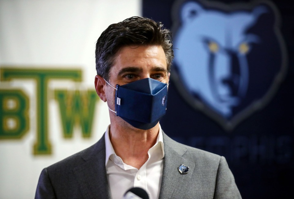 <strong>&ldquo;We are going to try to talk through it on a case-by-case basis,&rdquo; team president Jason Wexler (in a file photo) said on 92.9 FM ESPN&rsquo;s Geoff Calkins Show.</strong> (Patrick Lantrip/Daily Memphian)