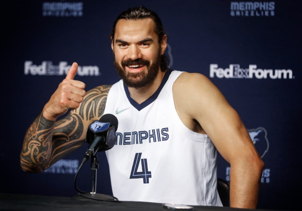 <strong>Sunday will be Steven Adams&rsquo; &mdash; and many others&rsquo; &mdash; first true interaction with the Grizzlies fans.</strong> (Mark Weber/Daily Memphian file)