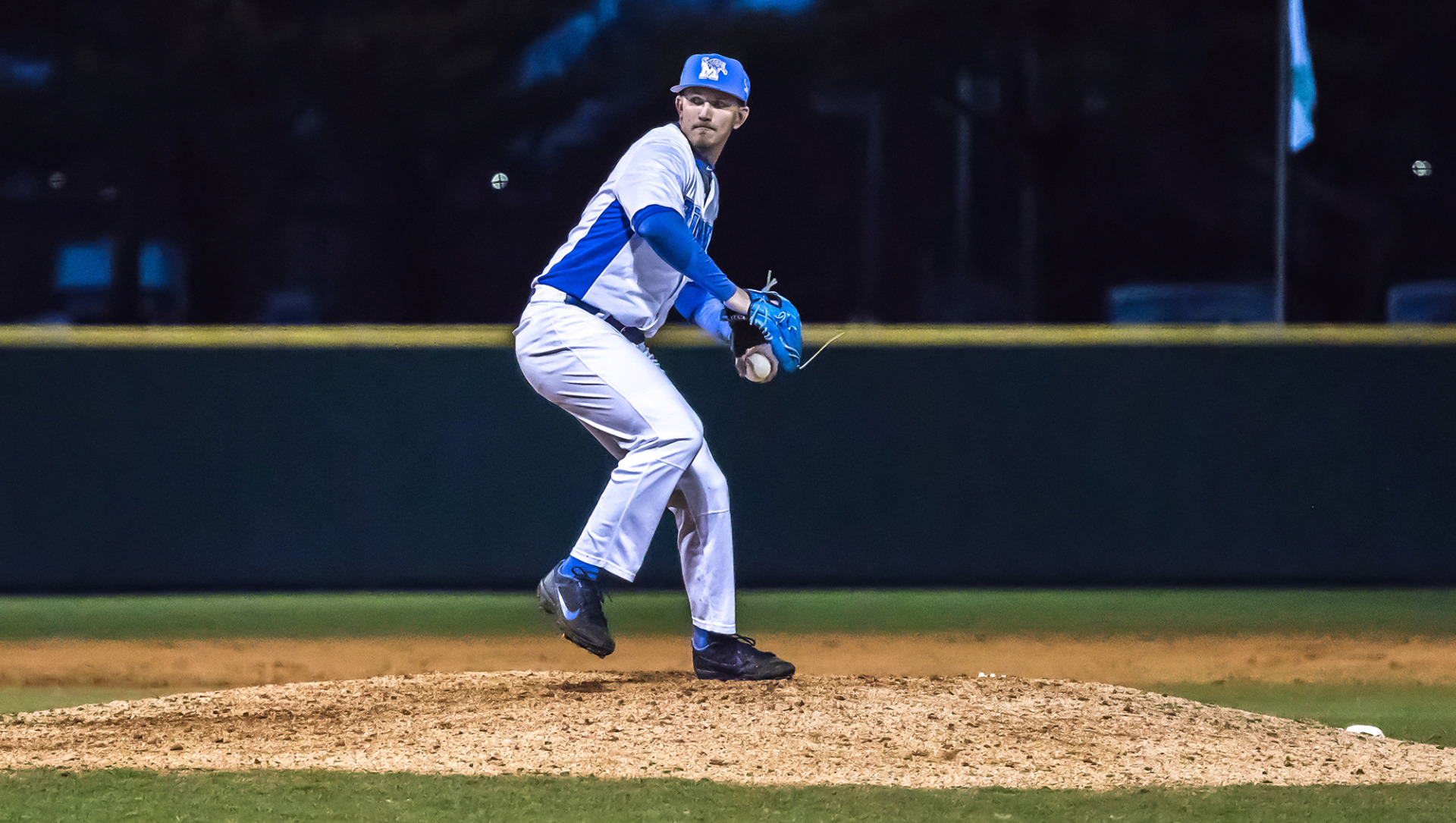 <strong>Senior lefthander Hunter Smith gets the ball on Friday as the opening day starter for the Memphis Tigers when baseball season begins against Indiana.</strong> (Photo courtesy of the University of Memphis)