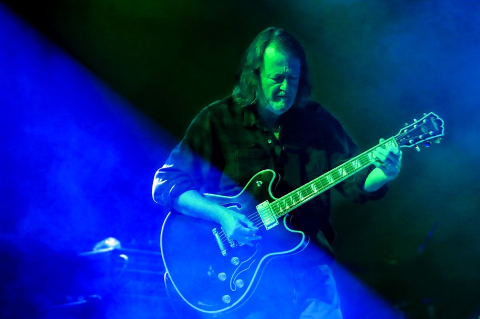<strong>John Bell of Widespread Panic performs at the Mempho Music Festival at the Memphis Botanic Garden&rsquo;s Radians Amphitheater Oct. 2, 2021.</strong> (Patrick Lantrip/Daily Memphian)
