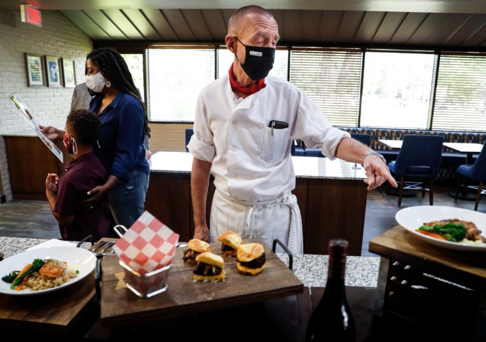 <strong>Chef Erling Jensen and Doubletree, announced on Monday, Oct. 4, 2021, they are teaming up for a small bites restaurant including a Topgolf Swing Suites.</strong> (Mark Weber/The Daily Memphian)