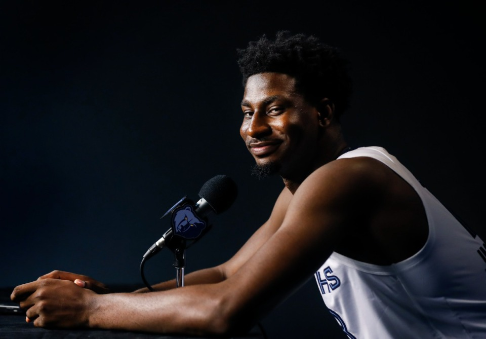 <strong>Jaren Jackson Jr. was logged as the NBA&rsquo;s leading candidate to be a breakout player this season, receiving 17% of the votes.</strong> (Mark Weber/The Daily Memphian)