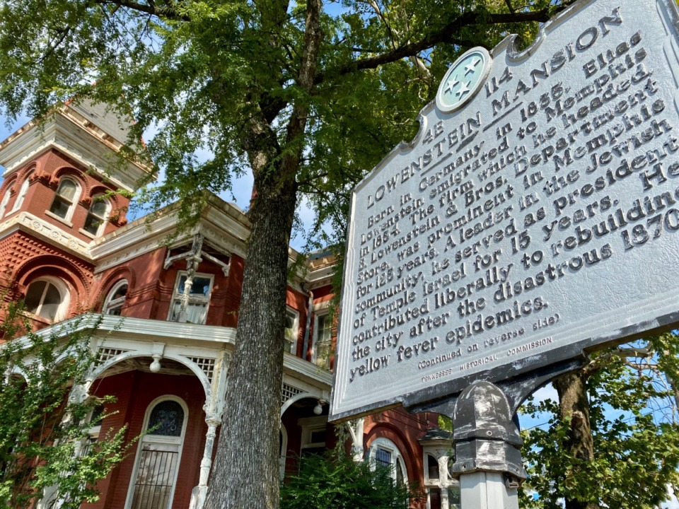 <strong>William &ldquo;Bill&rdquo; Townsend bought the Lowenstein Mansion on Tuesday, Oct. 5. The Lowenstein Mansion has been on the National Register of Historic Places since 1979.</strong> (Tom Bailey/Daily Memphian)