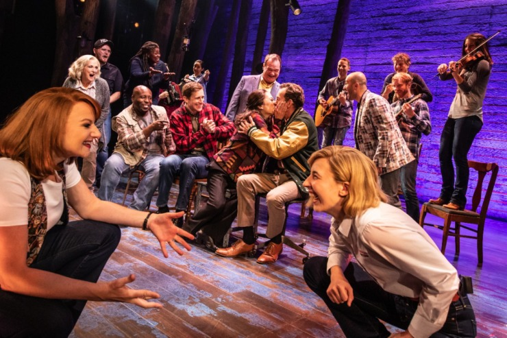 """The Orpheum's """"Come From Away"""" tells the story of airplane passengers stranded in Gander, Newfoundland, due to the 9/11 attacks.(Courtesy Matthew Murphy)"""