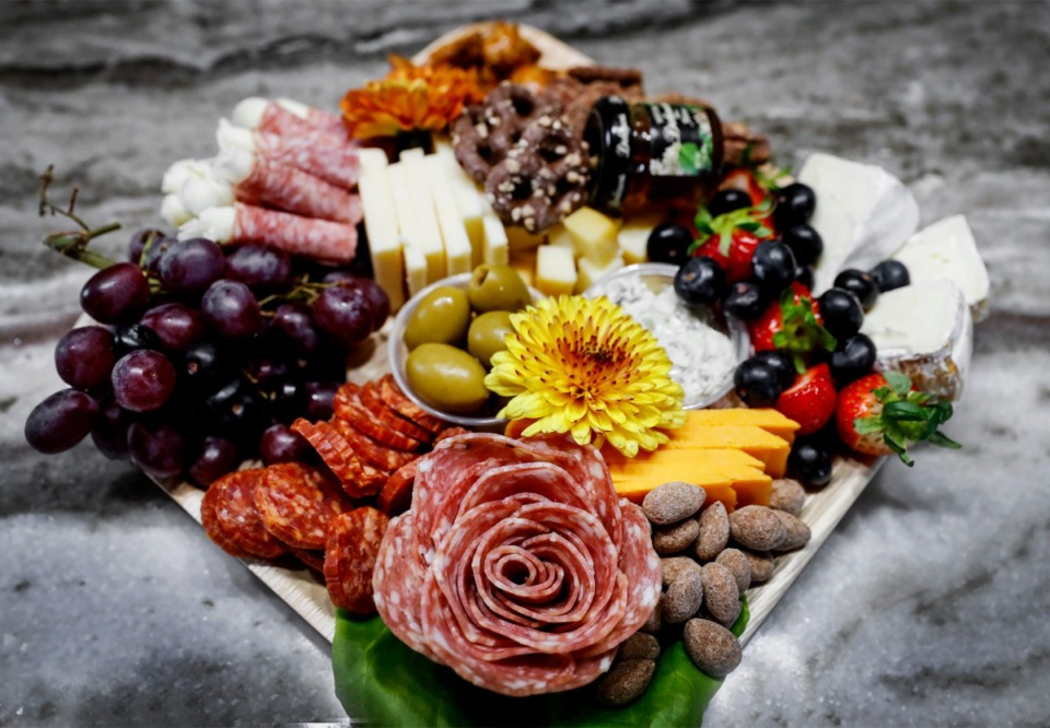 <strong>Chicks N Cheese owner Kelly Daniele describes charcuterie as&nbsp;portable yet elegant food for special occasions like birthdays, weddings, anniversaries or even outdoor concerts and tailgating at sports events. </strong>(Mark Weber/The Daily Memphian)