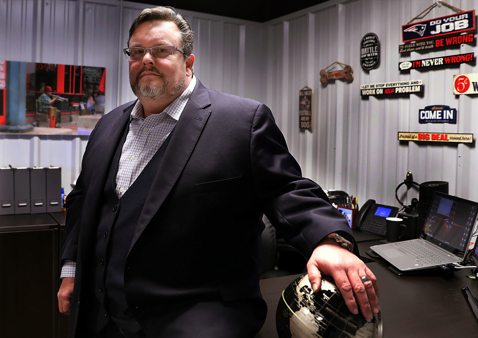 <strong>Among the many businesses Arlington, Tennessee resident Bob Wilson owns is H Saga International/Port Alliance, which is headquartered in the heart of the growing suburb that he feels has the potential to be the &ldquo;next Collierville.&rdquo;</strong> (Patrick Lantrip/Daily Memphian)
