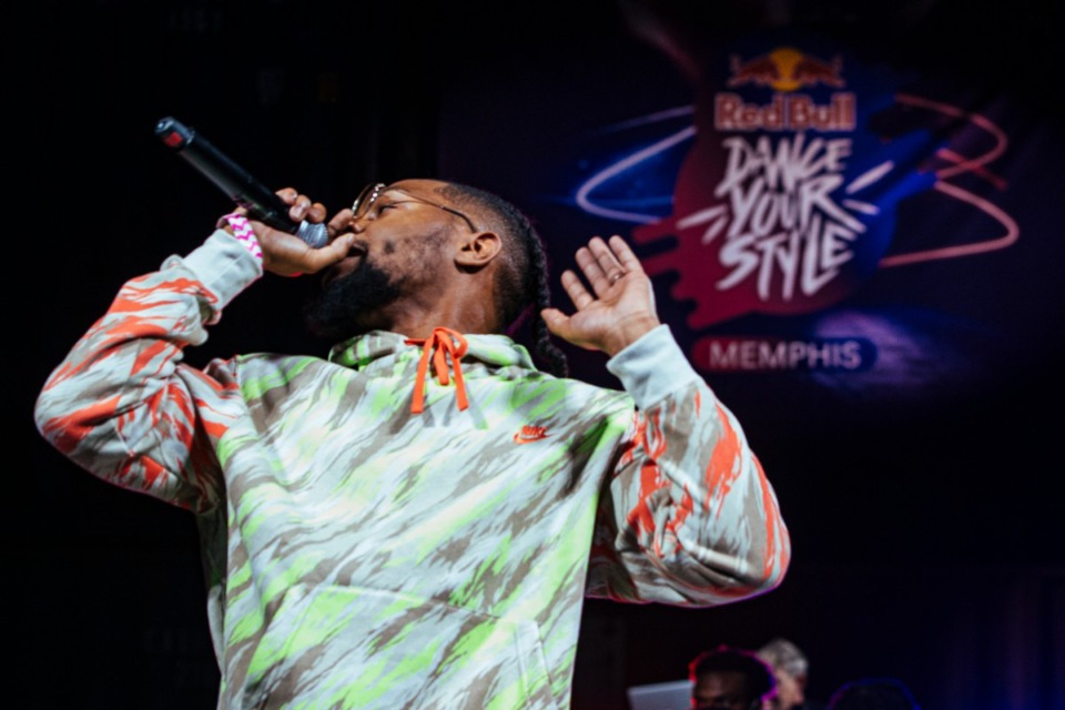 <strong>Singer Preauxx performs during Red Bull's Dance Your Style at Railgarten on Sunday, Oct. 10, 2021.</strong> (Ziggy Mack/Special to The Daily Memphian)