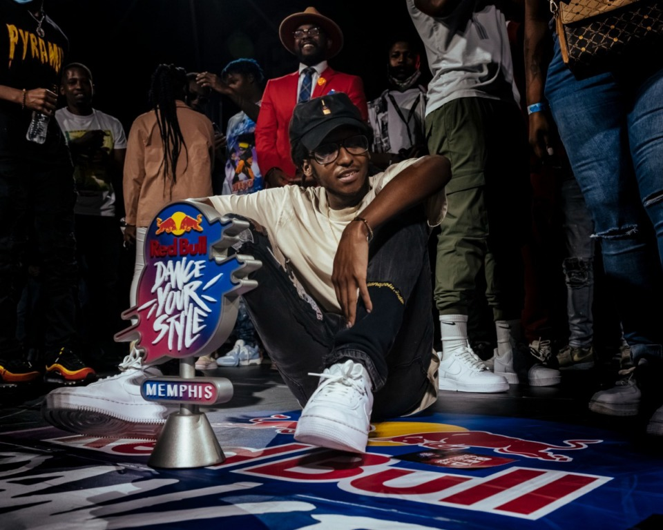 <strong>Memphis' Jadyn Smooth won Red Bull's Dance Your Style at Railgarten on Sunday, Oct. 10, 2021.</strong> (Ziggy Mack/Special to The Dail.y Memphian)