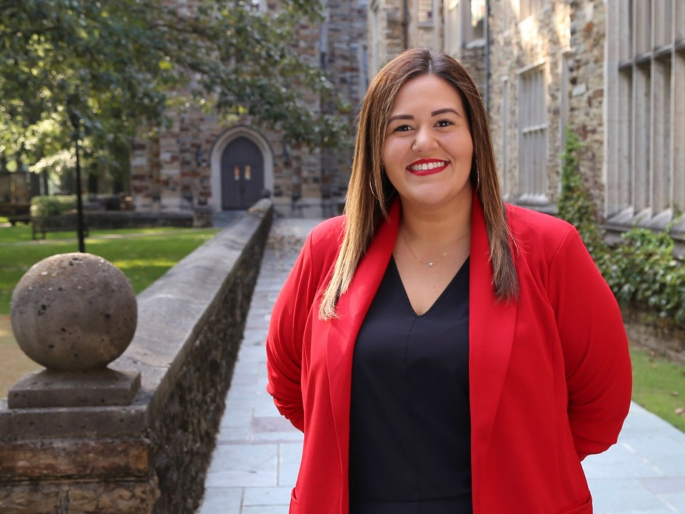 <strong>Rhodes College has selected&nbsp;Jazmine Rodriguez as Dean of Equity and Engagement in the Division of Student Life. </strong>(Courtesy of Rhodes College)
