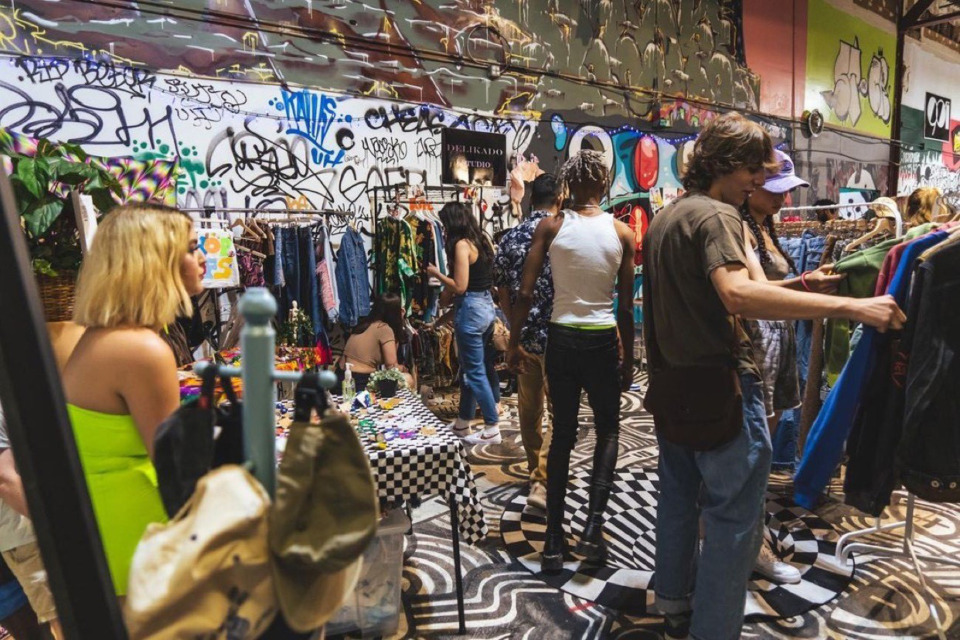 <strong>Attendees shop at the 901 Fantasy Wars fashion event July 3, 2021, hosted by Art Bazaar at 901 Studio at 136-138 Cumberland Street.</strong>&nbsp;(Courtesy Adarryl Jackson)