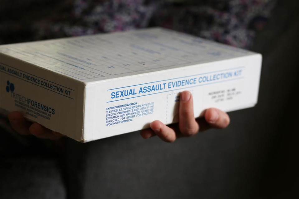 <strong>A sample rape kit owned by activist Meaghan Ybos.&nbsp;</strong><strong>Lawmakers are considering reforms to the sex offender registry law following a judge&rsquo;s decision earlier this year that the state applied the law unconstitutionally. </strong>(File/The Daily Memphian)