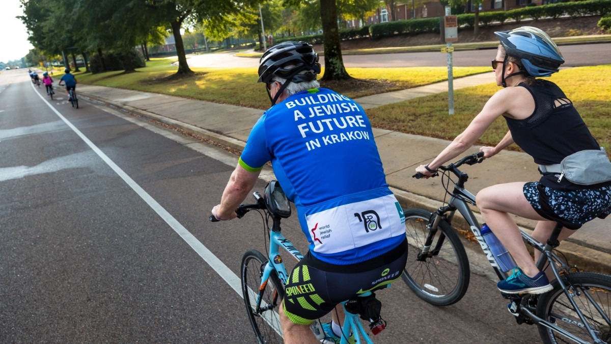 <strong>Cycling enthusiasts chose routes of various lengths for the Ride for Education fund-raiser Sunday, Oct. 24, 2021.</strong> (Ziggy Mack/Special to The Daily Memphian)