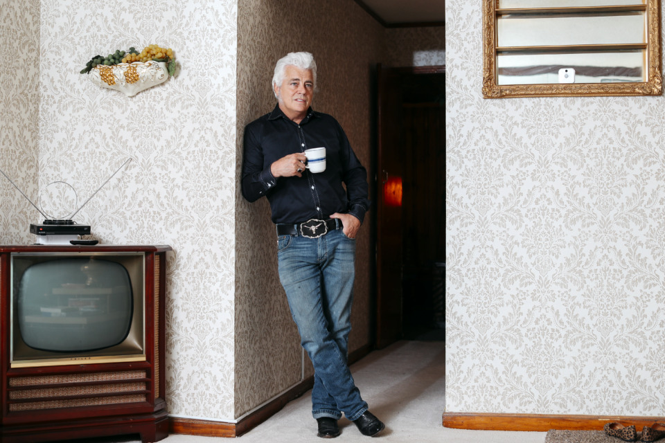 <strong>Dale Watson's Elvis-themed Airbnb also serves as his home, when he's in Memphis.</strong> (Houston Cofield/Daily Memphian)