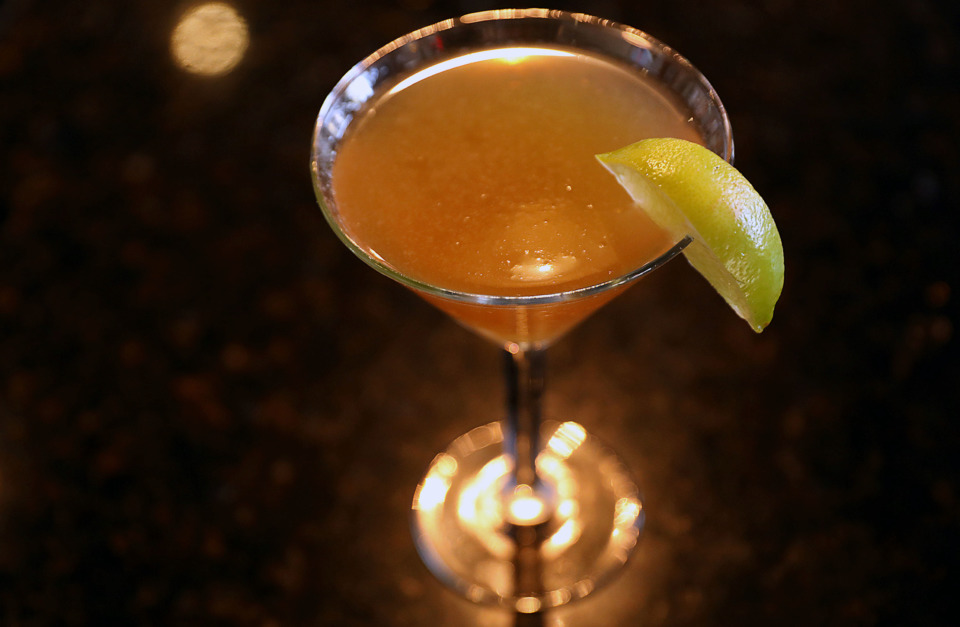 <strong>A Havana Sidecar made by River Oaks bartender Morgan Wyatt.</strong> (Patrick Lantrip/Daily Memphian)