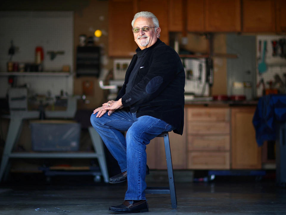 <strong>Arlington resident and inventor John Antignane, 71, created the LidGrabber in 2015 for coffee shops and restaurants.</strong> (Jim Weber/Daily Memphian)