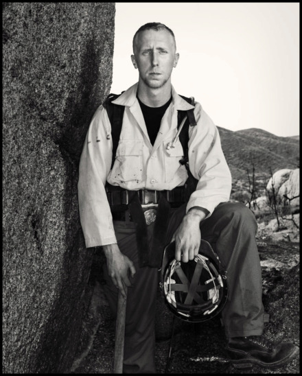 <strong>Brendan McDonough, the firefighter who survived the 2013 Yarnell, Arizona, wildfire that killed 19 of his fellow firefighters, now gives talks around the country about the importance of mental health for first responders. </strong>(Photo courtesy of Greater Talent Network Inc.)