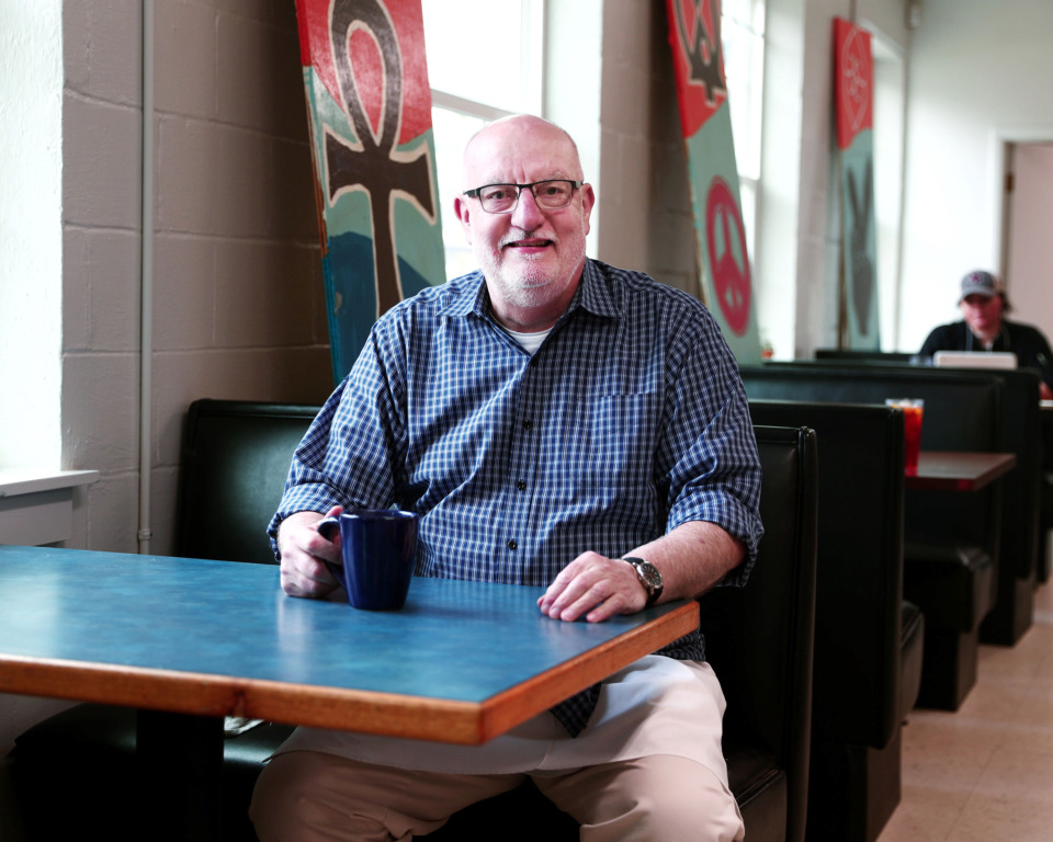<strong>Veteran restaurateur Mac Edwards stepped in last year as executive director of Caritas Village, a nonprofit community center in Binghampton with a caf&eacute; at its heart.</strong> (Houston Cofield/Daily Memphian)