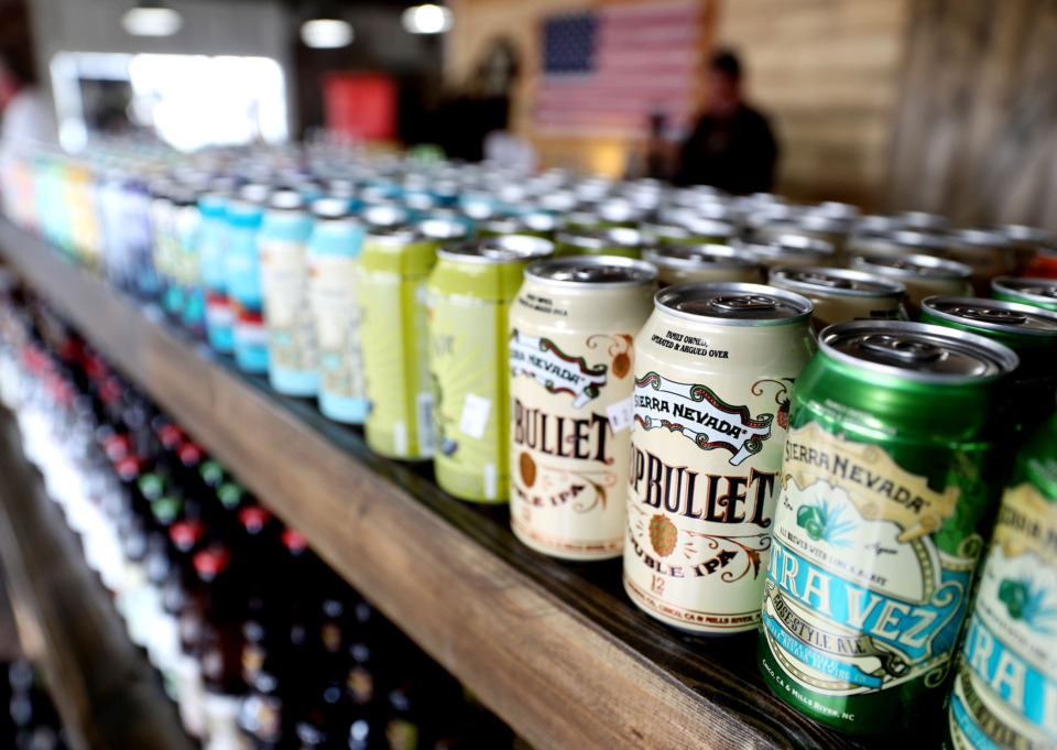 <strong>The Bean and Barley recently opened its doors in Arlington, offering more than 200 craft beers and 45 different coffees. The store is stocked with craft brews and coffee roasts that can be challenging to find elsewhere.</strong> (Houston Cofield/Daily Memphian)