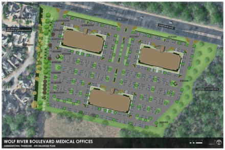 <strong>Fifteen acres could be transformed to house three medical buildings if Price Ford and the Fulmer family get Germantown's approval.</strong>