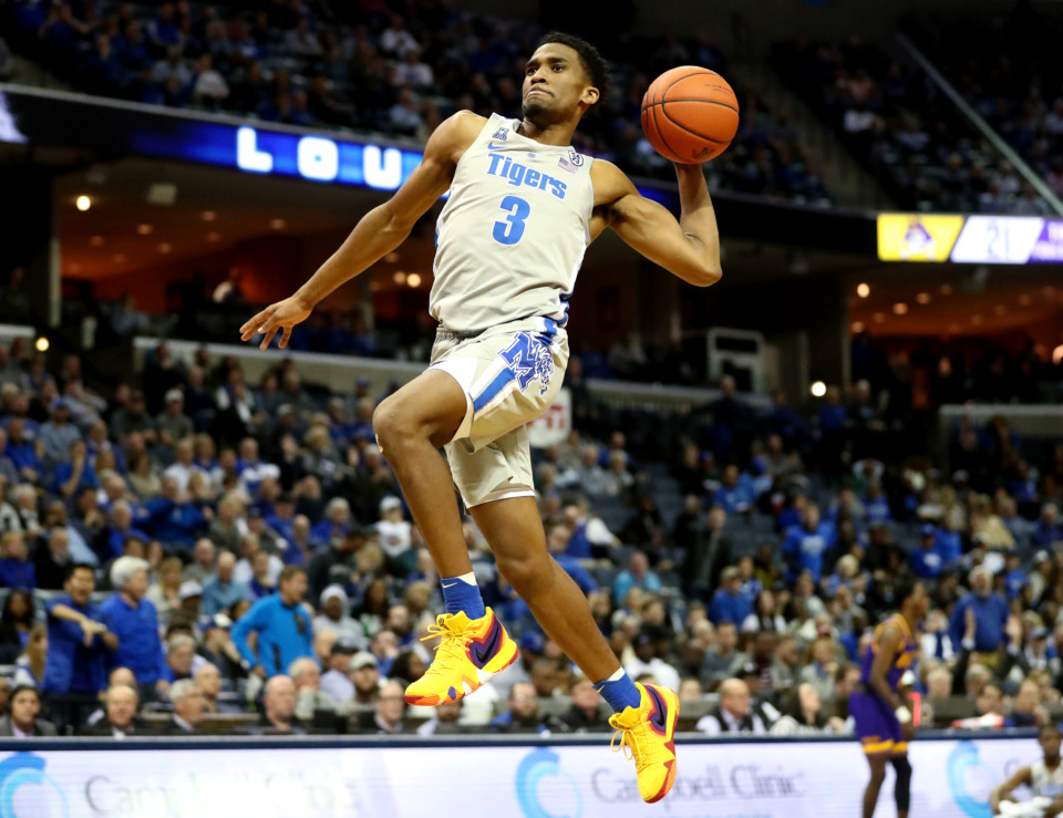 <strong>Memphis guard Jeremiah has been named to the first team All-Conference team.</strong> (Houston Cofield/Daily Memphian file)