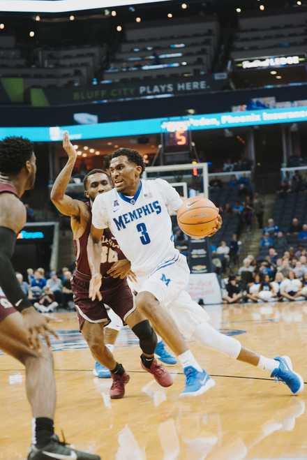 <strong>University of Memphis senior guard Jeremiah Martin (3) is set to return to the court after recovering from a foot fracture that ended his season in February.</strong> (Houston Cofield/Daily Memphian file)