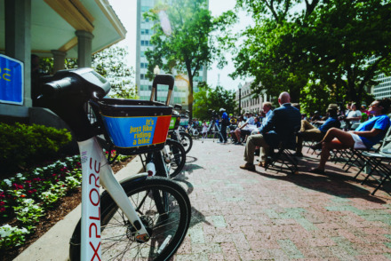 <strong>Explore Bike Share has picked up funding from Memphis-based FedEx and the city of Memphis.</strong> (Daily Memphian file)